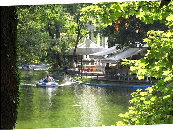 Le parc Primorski à Varna