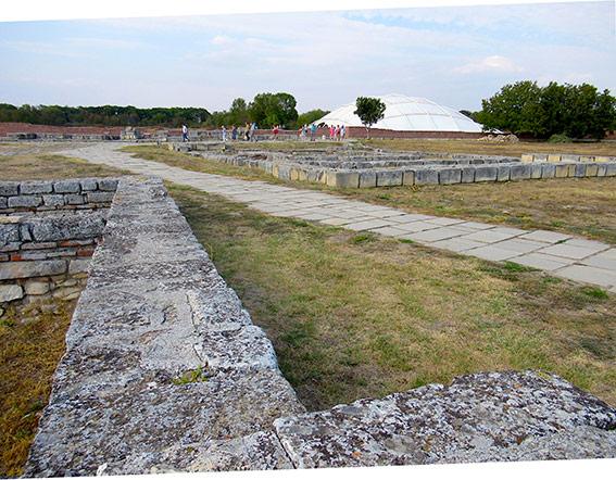 Mittelalterliche Stadt Pliska