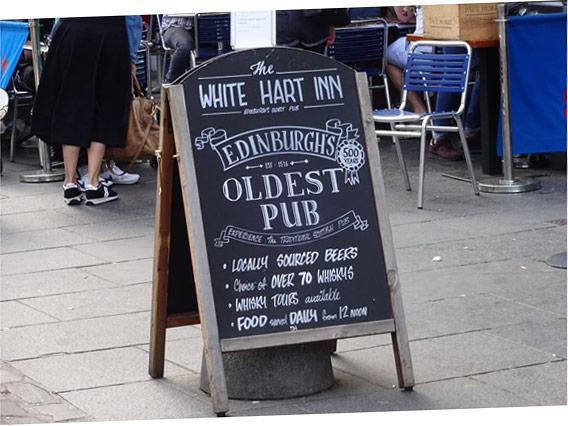 Il più vecchio pub di Edimburgo
