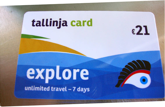 """The """"Tallinja Card Explore"""" offers unlimited journeys."""