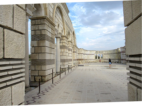 Die grosse Basilika von Pliska