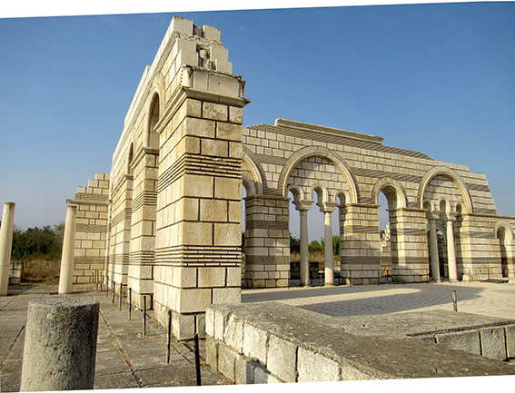 La grande basilique de Pliska