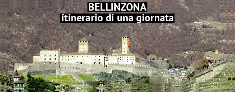 Bellinzona veduta del castello