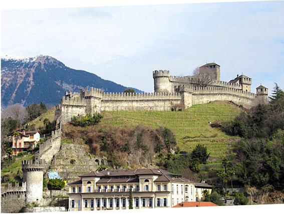 Veduta del Castello di Montebello
