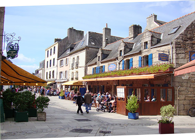 Ville Close at Concarneau