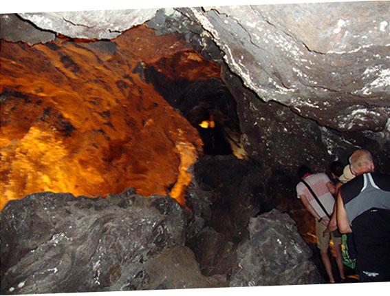 Die Höhle Cueva de los Verdes