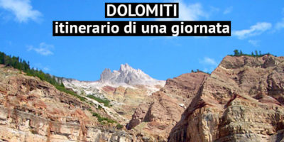 Veduta delle Dolomiti
