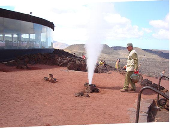 Dimostrazione vulcanica