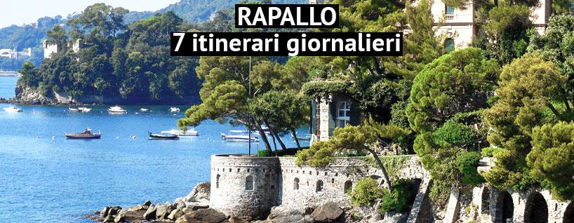 Veduta dei dintorni di Rapallo