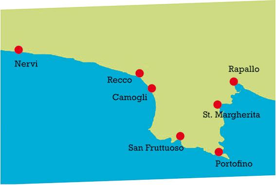 Our destinations in Liguria
