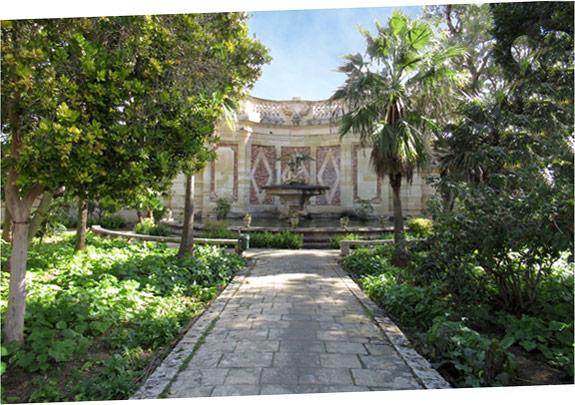 San Anton Gardens in Attard