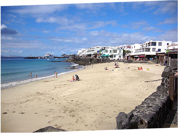 Playa Blanca et sa spectaculaire plage