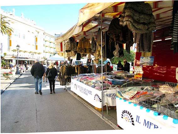 Markt in Rapallo