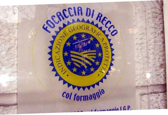 """La fameuse """"Focaccia"""", produit cuit au four."""