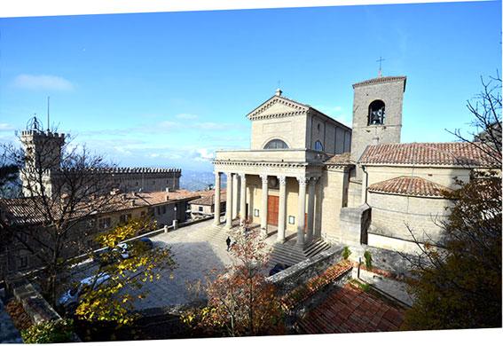 San Marino veduta
