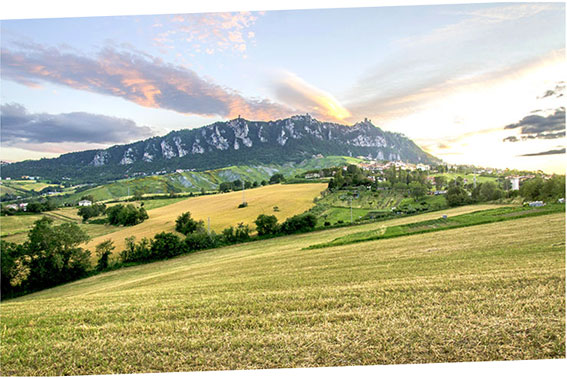 PAesaggio di San Marino