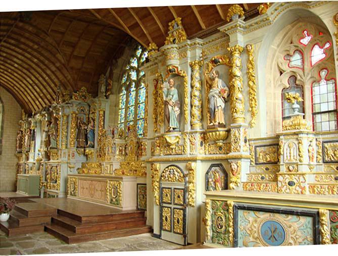 Cappella Sainte-Marie-du-Ménez-Hom
