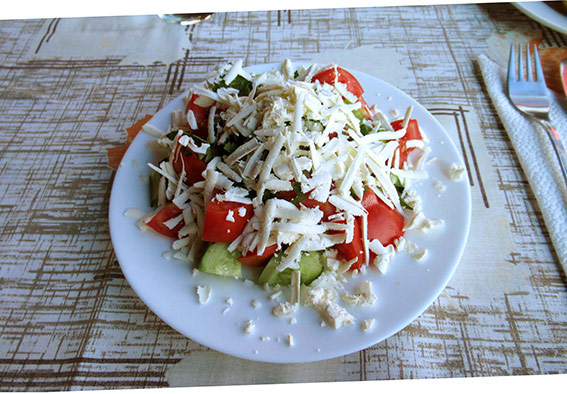 Shopska salad.