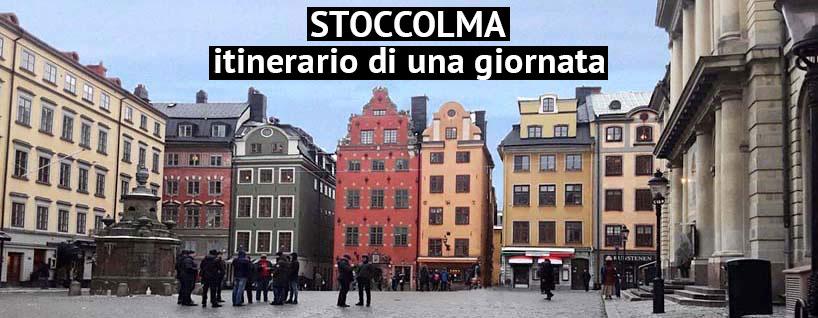 Il centro storico di Stoccolma