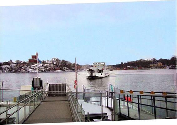 Traghetto a Stoccolma