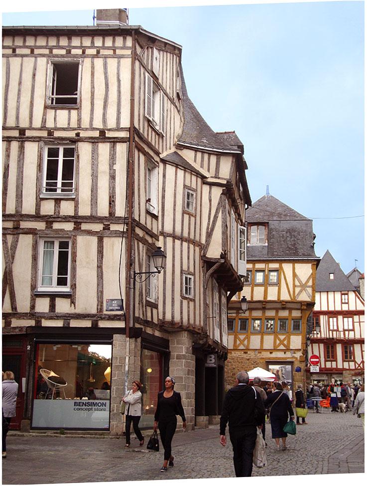 Vannes città medievale