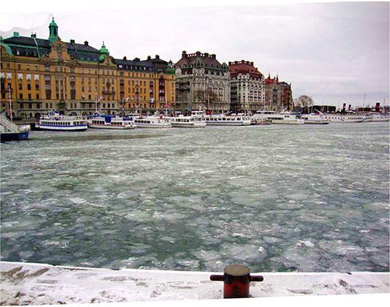 Il porto turistico di Stoccolma