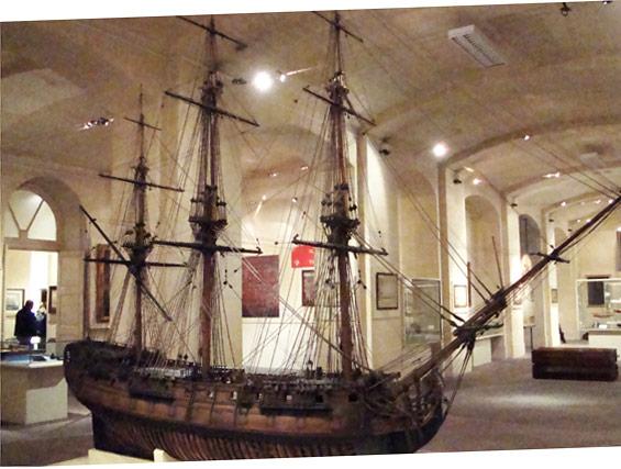 Musée maritime à Vittoriosa (Birgu)