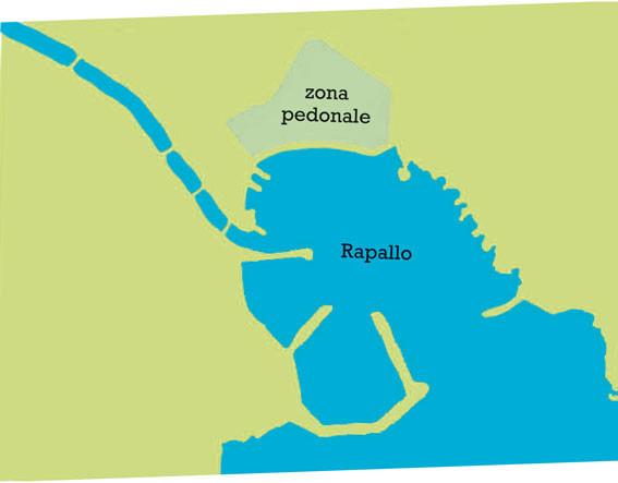 Karte von Rapallo