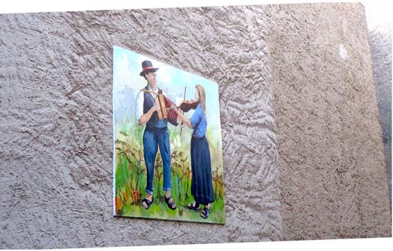 I murales di Novaggio