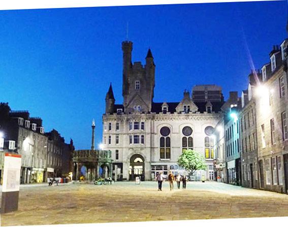 Aberdeen la nuit