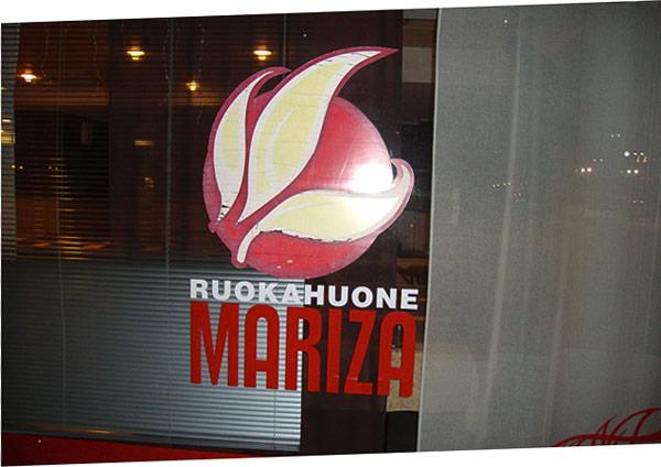 Restaurantschild