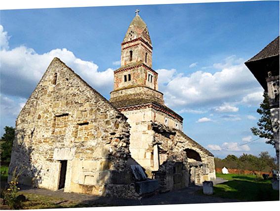 L'église de San Nicola (a Densuș)