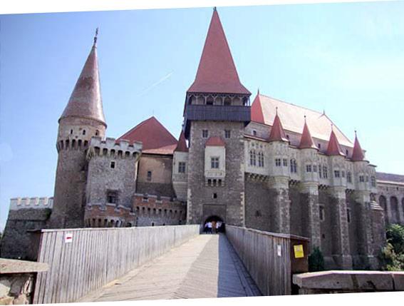 Le Château des Corvins (à Hunedoara)