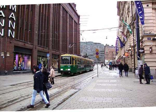 La ville d'Helsinki