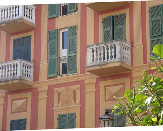 Rapallo historic center