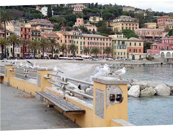 The sea of Santa Margherita Ligure