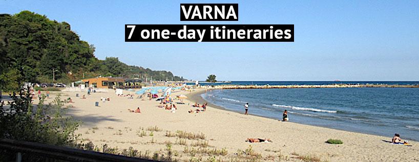 Varna in Bulgaria on the Black Sea
