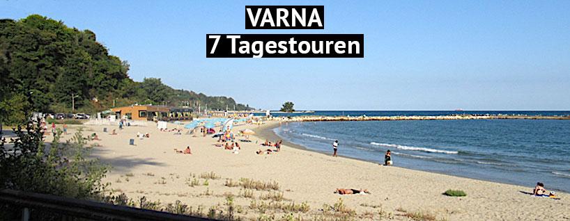 Varna in Bulgarien am Schwarzen Meer