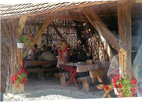 Un petit restaurant à Viscri