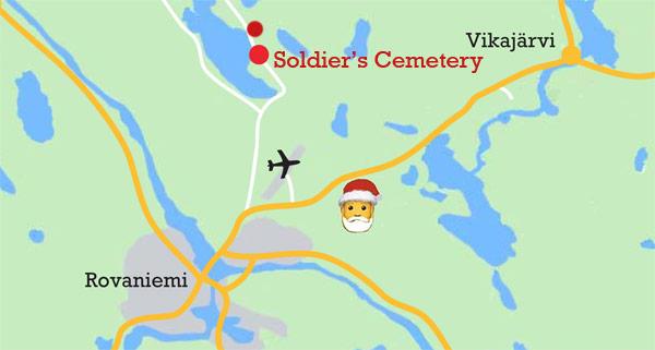 Memorial in Rovaniemi