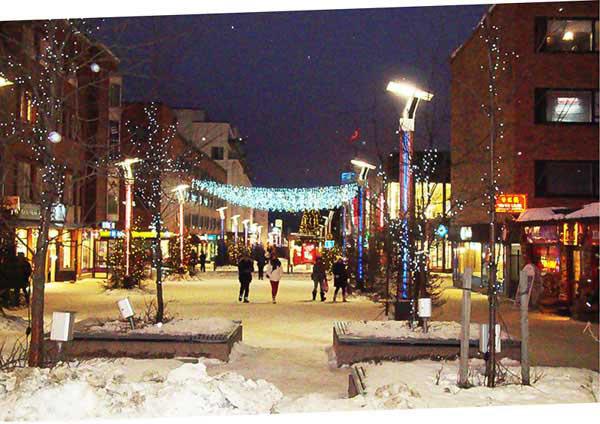 La ville de Rovaniemi