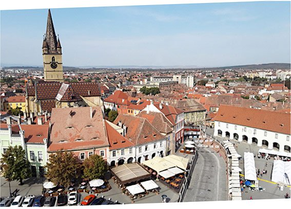 The roofs of Sibiu