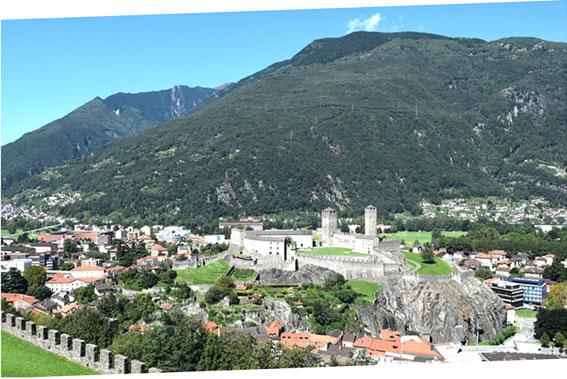 Castelgrande (letzte Restaurierung durchgeführt von Aurelio Galfetti)