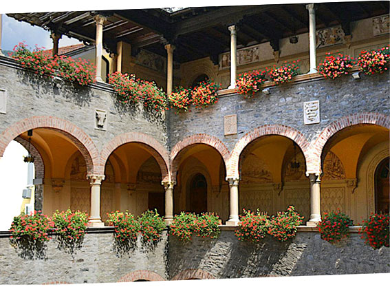Bellinzona, interieur du mairie