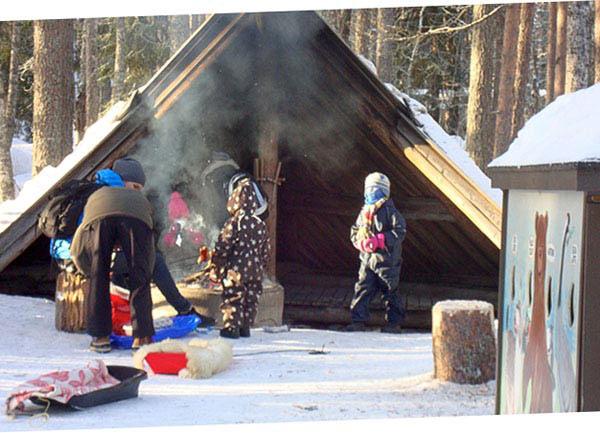 postazione per grill, Rovaniemi