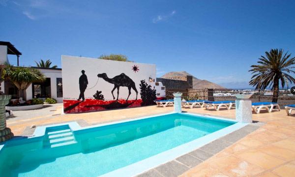 Casa de Hilario swimming pool