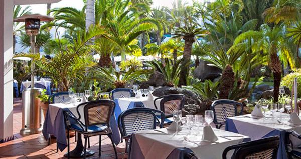Hotel Seaside Los Jameos Playa restaurant