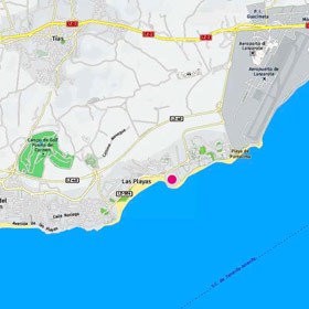 Hotel Seaside Los Jameos Playa dover si trova