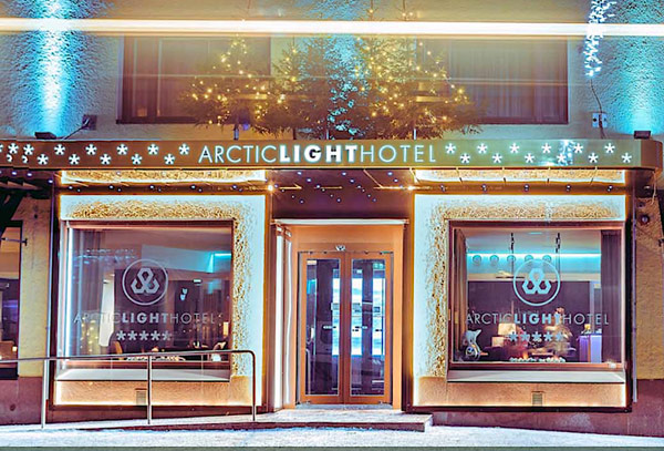 Arctic Light Hotel entrée