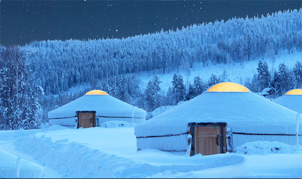 District yurta rovaniemi